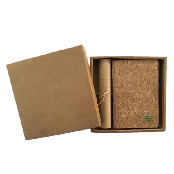 Cork leather for office products and notebook