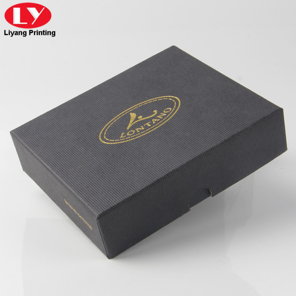 Custom power bank cardboard gift box with inlay
