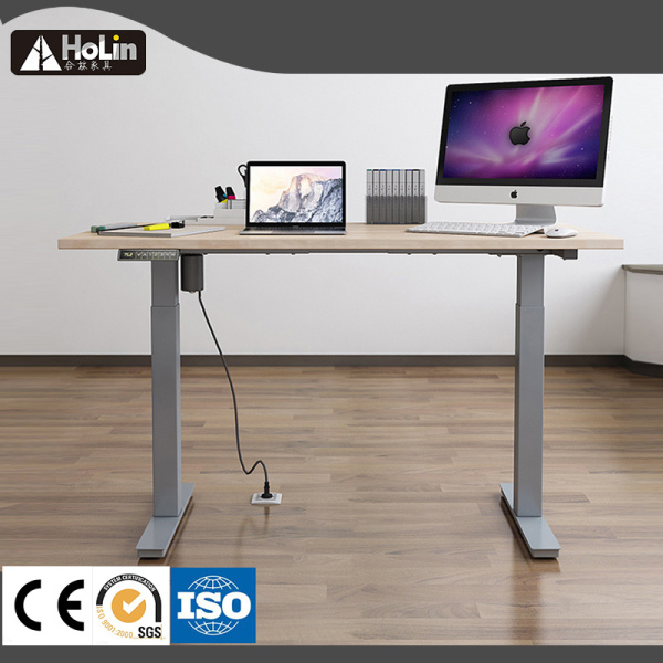 Electric Lift Height Adjustable Sit Stand Computer Table