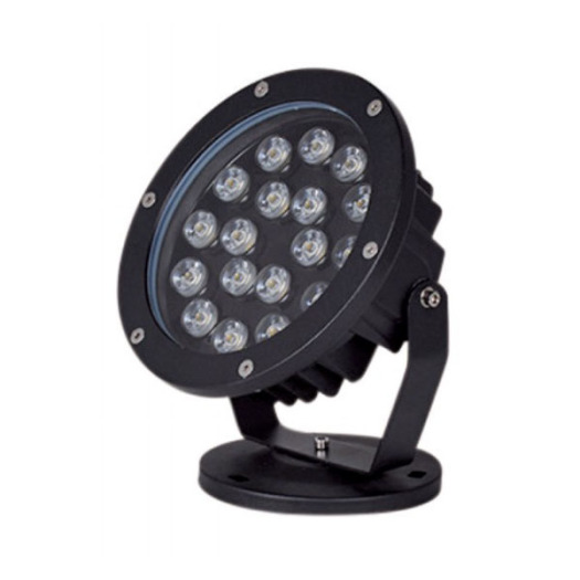 Dimmable Aluminum Black 18W CREE LED Spike Light