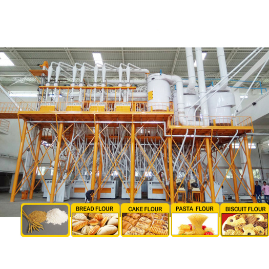 automatic flour mill PLC Wheat Flour Milling Machine wheat flour mill