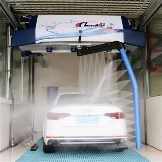 High pressure touchless car wash leisuwash 360 mini