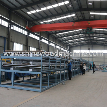 Plywood Core Veneer Dryer