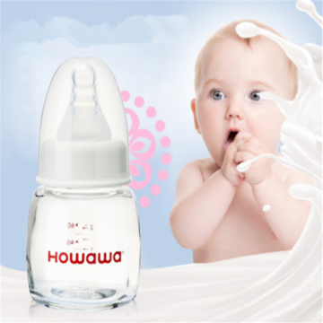 Baby Glass Milk Bottle feeding Bottle