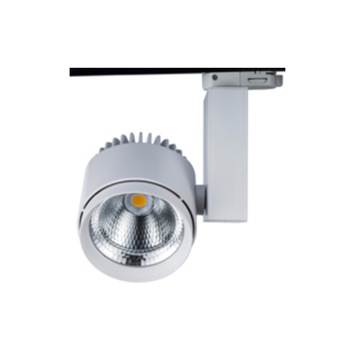 Wide Beam White LED Track Light
