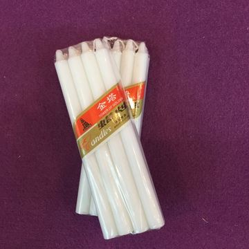 Long Burning Stick Utility White Candle Daily Use
