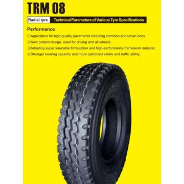 All Steel Tyre 315/80R22.5 TRM08