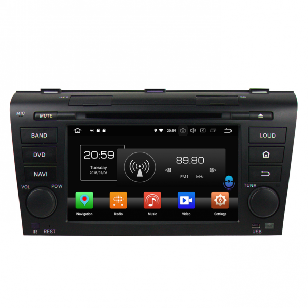 Android car dvd for MAZDA 3