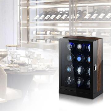 Multi Rotations Wooden Automatic Watch Winder