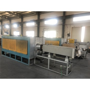 Continuous push rod furnace