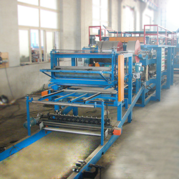EPS flat board discontinious sandwich panel machine