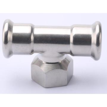 Stainless Steel 304/316L Press Pipe Fittings