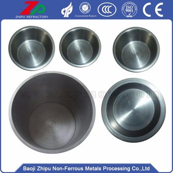 High purity sapphire crystal tungsten crucible