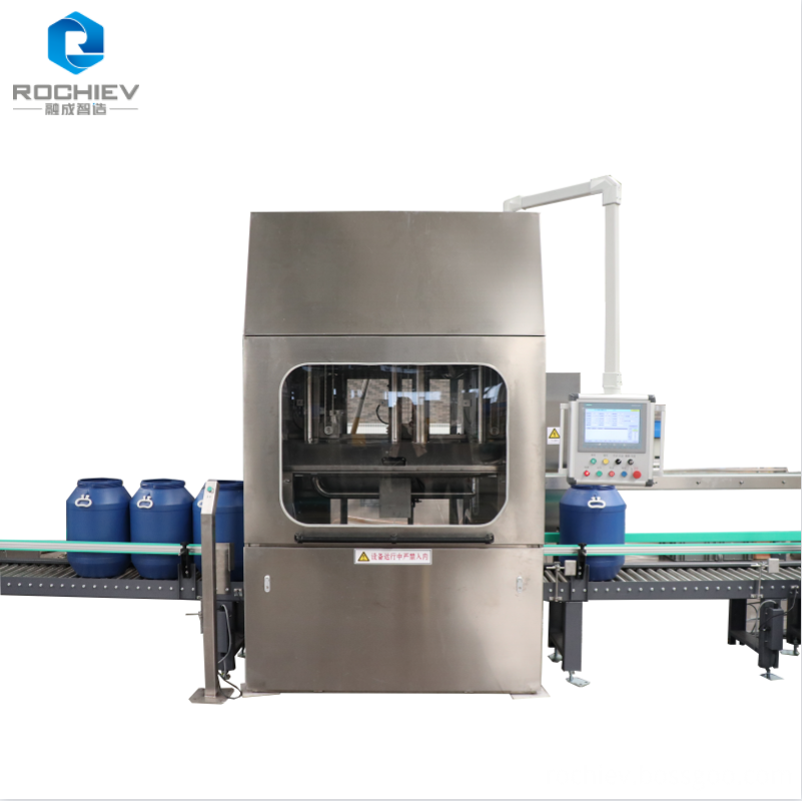 Automatic multihead liquid filling lines