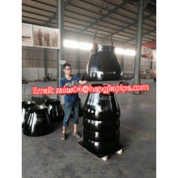 BS1965 EN10253 seamless pipe reducer