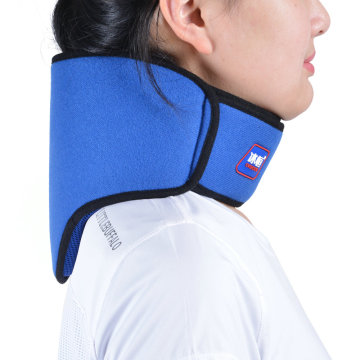 Neck physical therapy cold gel ice pack wrap