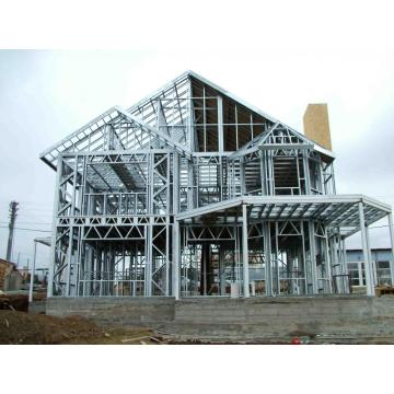Quick Install Prefabricated Light Gauge Steel Frame House