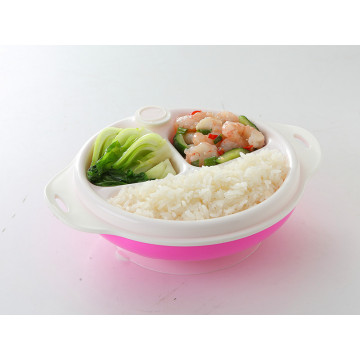 Double Layer Heat Resistant Bowl Baby Feeding Tableware