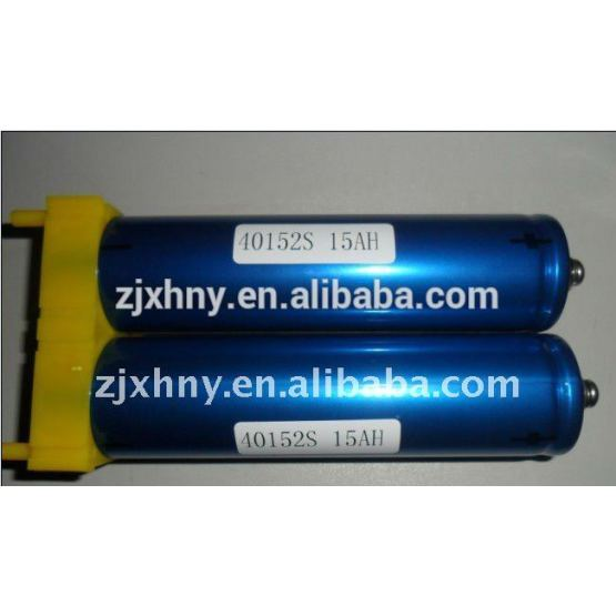 lifepo4 lithium battery 40152-15ah cell for e-motor car