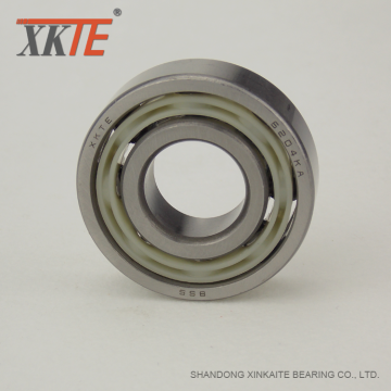 Low Coefficient Friction Polyamide Bearing 6204 For Roller