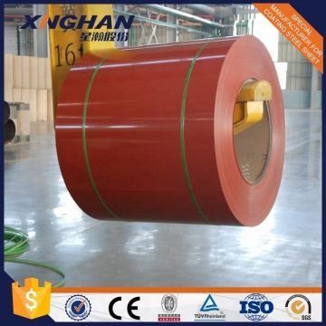 color coated steel coil PPGI coil