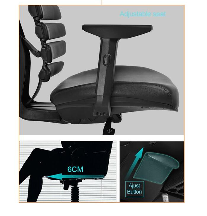 seat depth adjustable mechanism chair