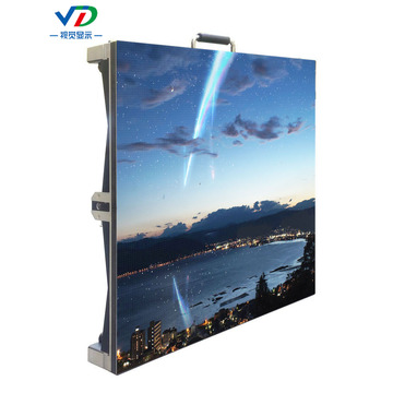 PH6.25 Indoor Mobile LED Display with 500x500mm Cabinet