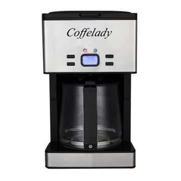 Fully Automatic Coffee Maker with Built-in Grinder