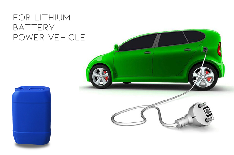 Liquid for Lithium Battery Powered Car
