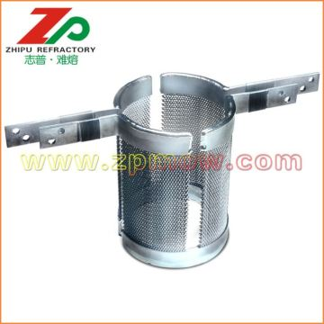 Custom tungsten mesh heating element