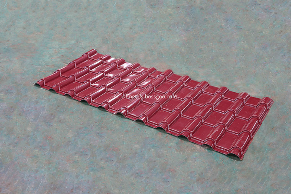 glazed tile product sample