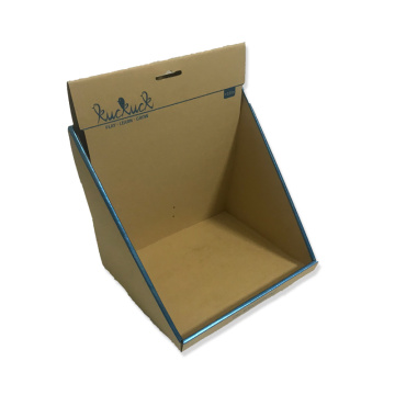 Cheap retail display cardboard boxes storage