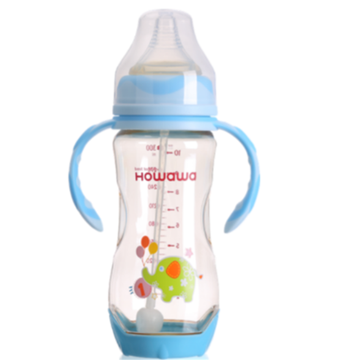10oz Heat Sensing Baby Nursing Milk Bottle