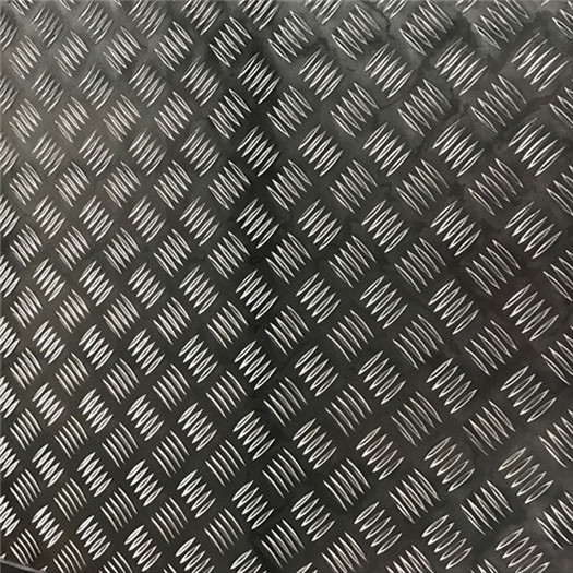 Five Bar Embossed Aluminum Sheet
