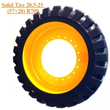 Solid Tire Caterpillar Skid Steer FB20.5-25 R709