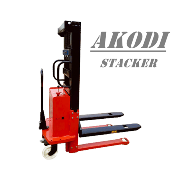 Semi Electric Pallet Stacker 1 Ton
