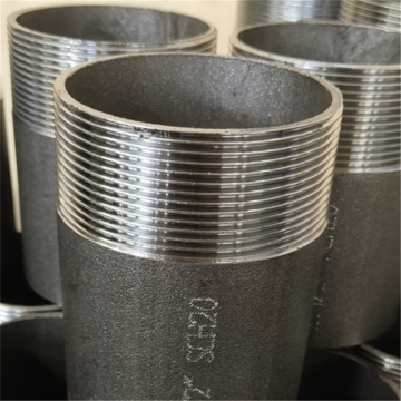 Carbon Steel Male Connector Fittings Pipe Nipple