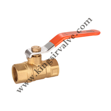 Red handle ball valve
