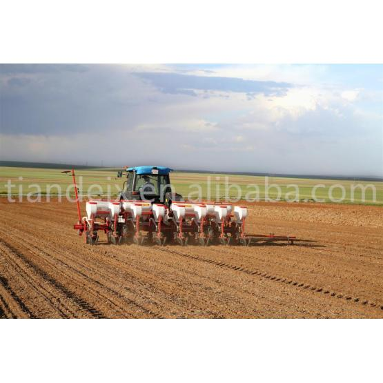 Multifunction agriculture pneumatic precision 8 row seeder