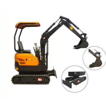 1600kg Wheel Crawler Cheap Mini Excavator