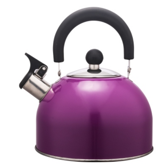 KHK003 2.0L Stainless Steel color painting Teakettle purple color