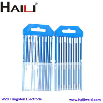 zirconiated tungsten electrode 2.4mmX175mm WZ8