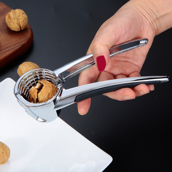 Wholesale Reusable Silver Metal Heavy Duty Nut Cracker