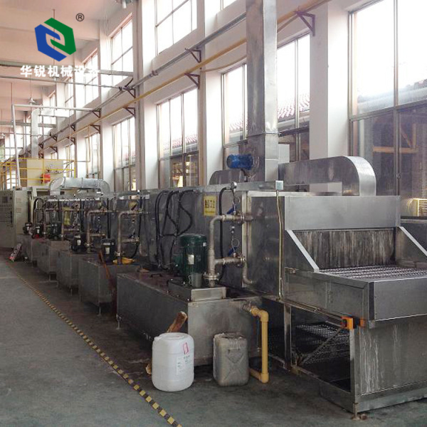 Automatic High-quality Efficient Adjustable Hanging Type Pre-treatment Coating Line