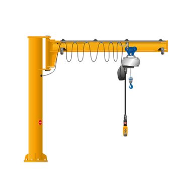 2Ton Pillar Mounted Slewing Jib Crane Price
