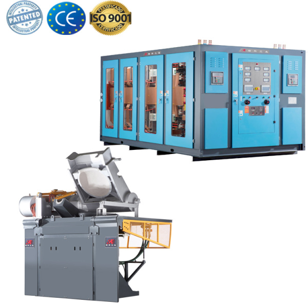 Induction furnace melting aluminum melting machine for sale