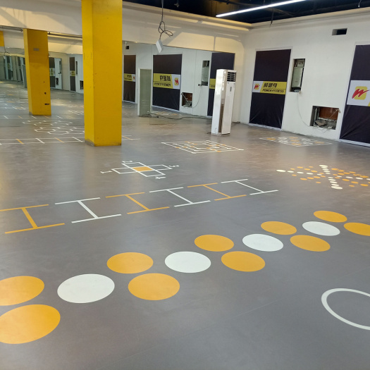 enlio pvc Gymnasium sports flooring