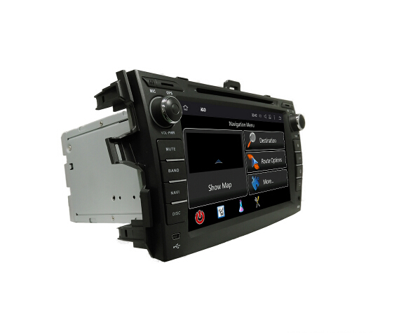 Android GPS Radio for   Toyota Corolla   2006-2011