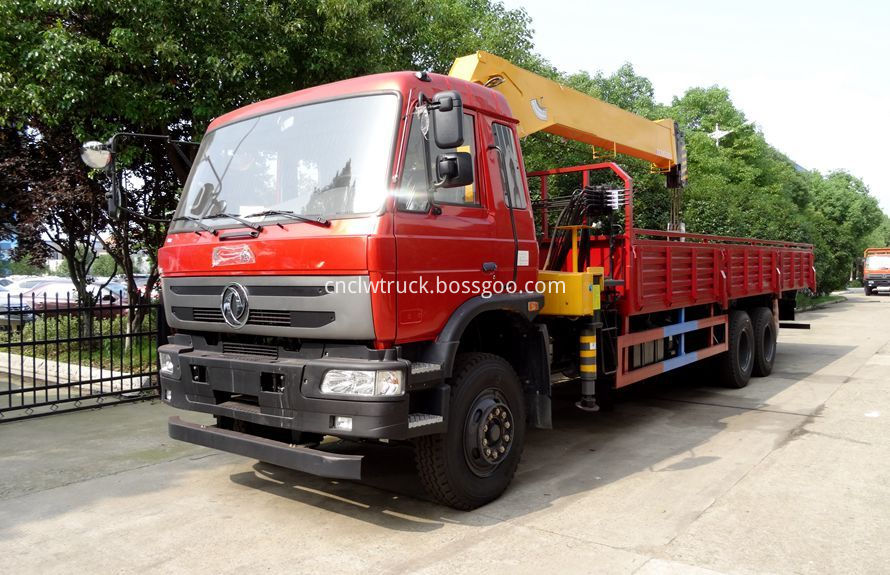 commercial truck mounted crane