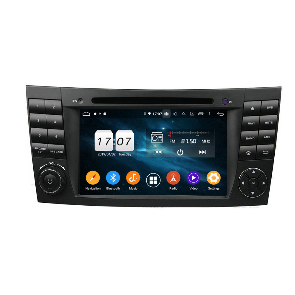 Autoradio Android 9.0 for E-Class W211